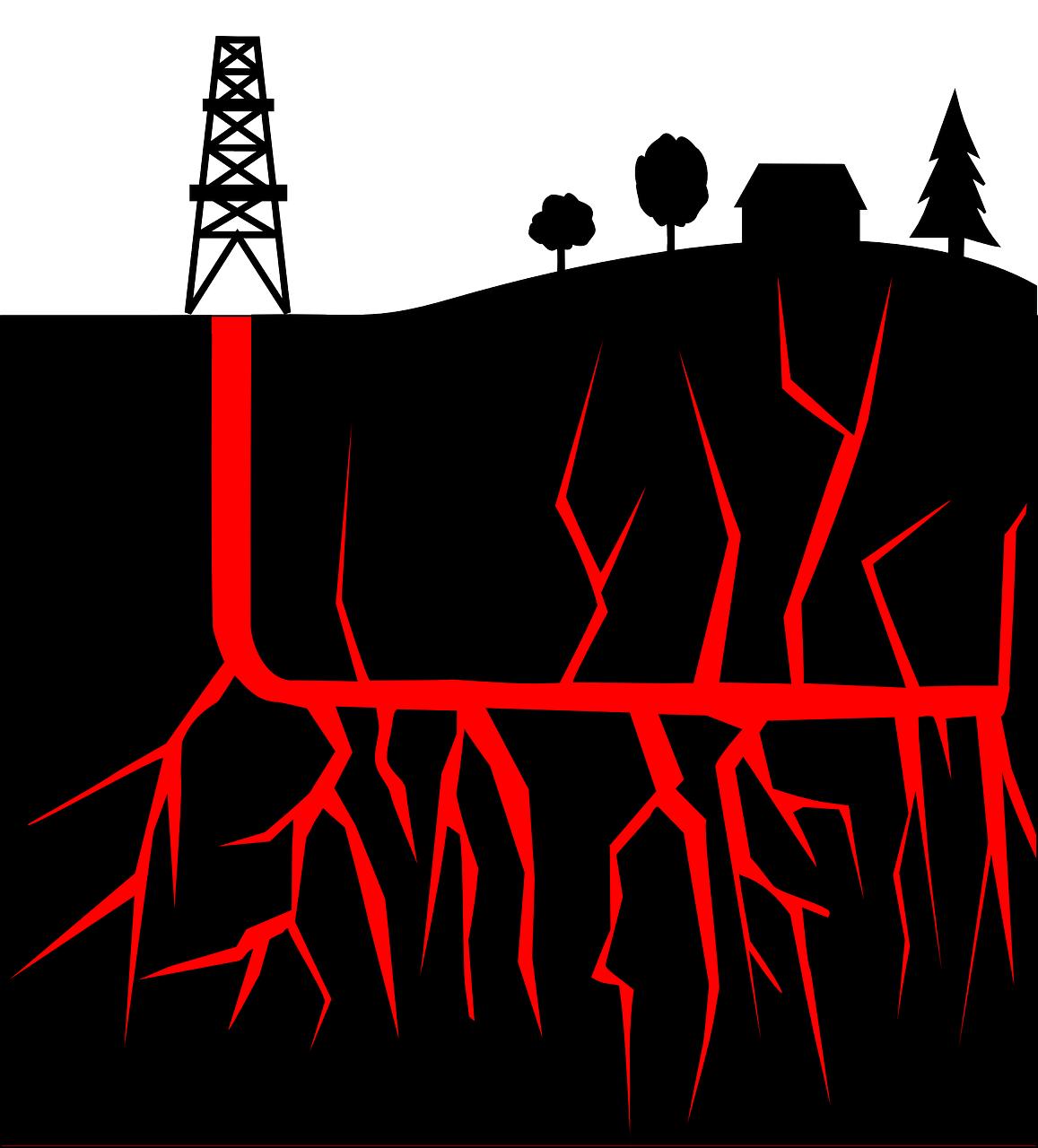 fracked environment